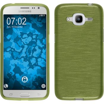 Silicone Case for Samsung Galaxy J2 (2016) brushed pastel green