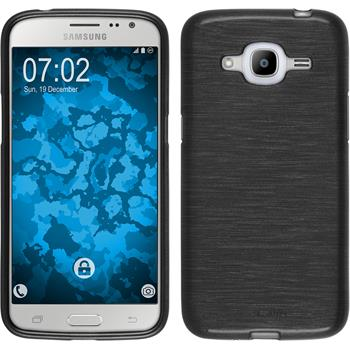 Silicone Case for Samsung Galaxy J2 (2016) brushed silver
