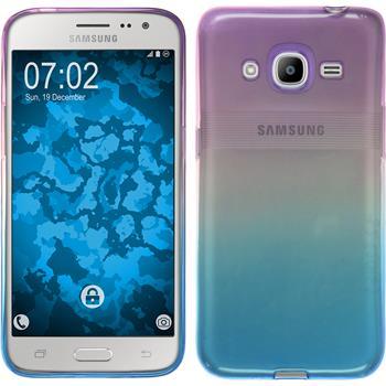 Silicone Case for Samsung Galaxy J2 (2016) Ombrè Design:04