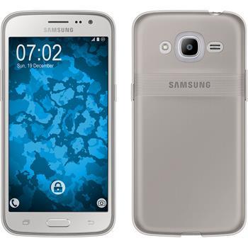 Silicone Case for Samsung Galaxy J2 (2016) Slimcase gray