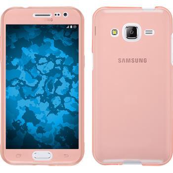 Silicone Case for Samsung Galaxy J2 360° Fullbody pink