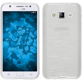 Silicone Case for Samsung Galaxy J2 brushed white