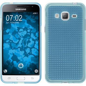 Silicone Case for Samsung Galaxy J3 (2016) Iced light blue
