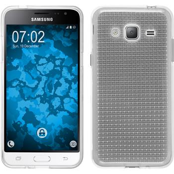Silicone Case for Samsung Galaxy J3 (2016) Iced transparent