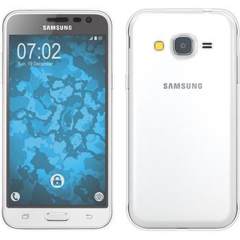 Silicone Case for Samsung Galaxy J3 360° Fullbody transparent