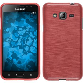 Silicone Case for Samsung Galaxy J3 brushed pink