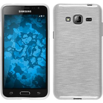 Silicone Case for Samsung Galaxy J3 brushed white