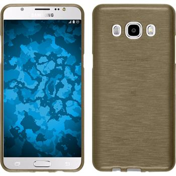 Silicone Case for Samsung Galaxy J5 (2016) brushed gold