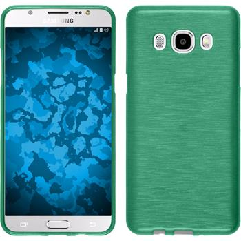 Silicone Case for Samsung Galaxy J5 (2016) brushed green