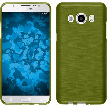 Silicone Case for Samsung Galaxy J5 (2016) brushed pastel green