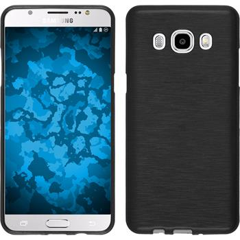 Silicone Case for Samsung Galaxy J5 (2016) brushed silver