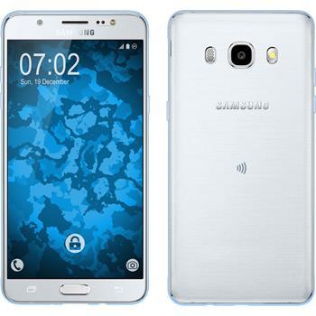Silicone Case for Samsung Galaxy J5 (2016) J510 360° Fullbody light blue