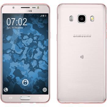 Silicone Case for Samsung Galaxy J5 (2016) J510 360° Fullbody pink