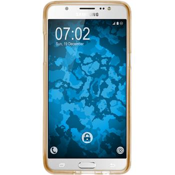 Silicone Case for Samsung Galaxy J5 (2016) J510 Iced gold