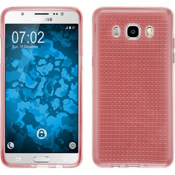 Silicone Case for Samsung Galaxy J5 (2016) J510 Iced pink