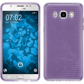 Silicone Case for Samsung Galaxy J5 (2016) J510 Iced purple