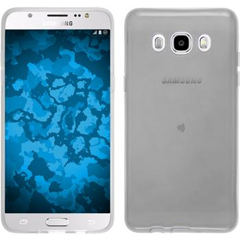Silicone Case for Samsung Galaxy J5 (2016) J510 transparent white