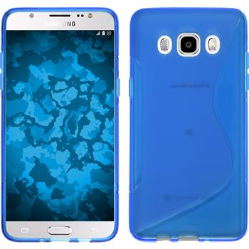 Silicone Case for Samsung Galaxy J5 (2016) S-Style blue