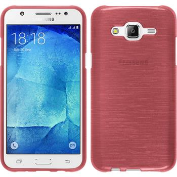 Silicone Case for Samsung Galaxy J5 (J500) brushed pink