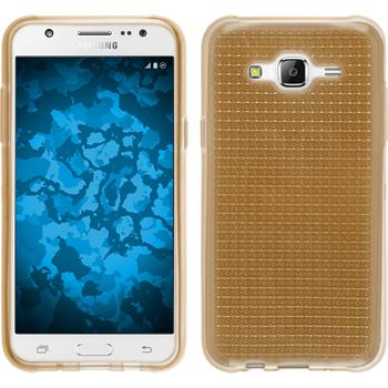 Silicone Case for Samsung Galaxy J5 (J500) Iced gold