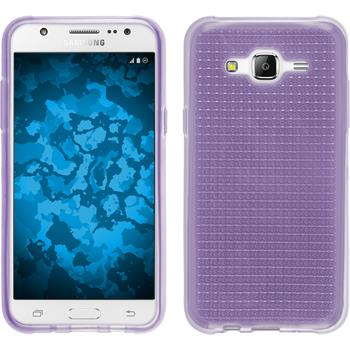 Silicone Case for Samsung Galaxy J5 (J500) Iced purple