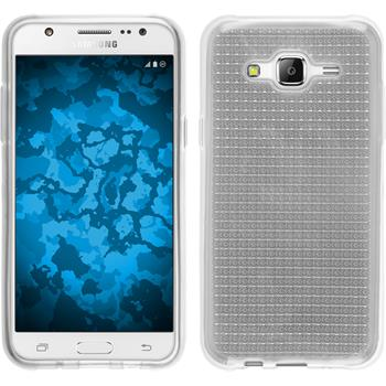 Silicone Case for Samsung Galaxy J5 (J500) Iced transparent