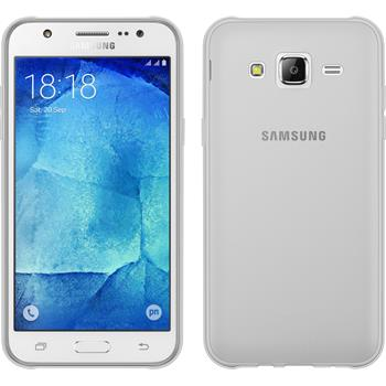Silicone Case for Samsung Galaxy J5 (J500) transparent Crystal Clear