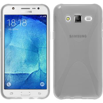 Silicone Case for Samsung Galaxy J5 (J500) X-Style transparent