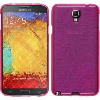 Silicone Case for Samsung Galaxy Note 3 Neo brushed pink