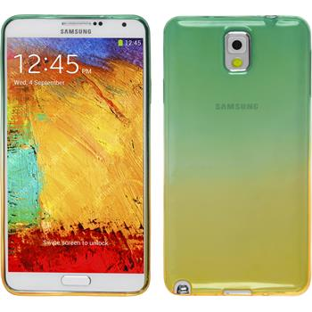 Silicone Case for Samsung Galaxy Note 3 Ombrè Design:03