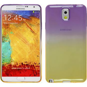 Silicone Case for Samsung Galaxy Note 3 Ombrè Design:05