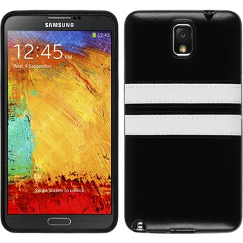 Silicone Case for Samsung Galaxy Note 3 Stripes black