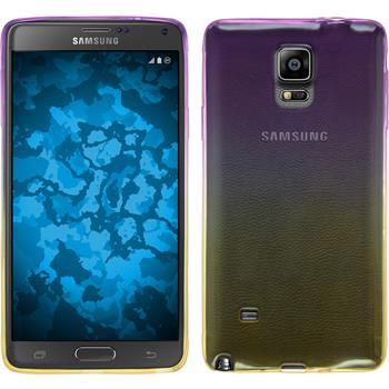 Silicone Case for Samsung Galaxy Note 4 Ombrè Design:05