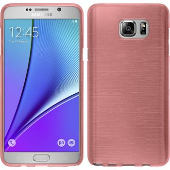 Silicone Case for Samsung Galaxy Note 5 brushed pink