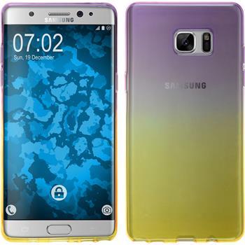 Silicone Case for Samsung Galaxy Note 7 Ombrè Design:05