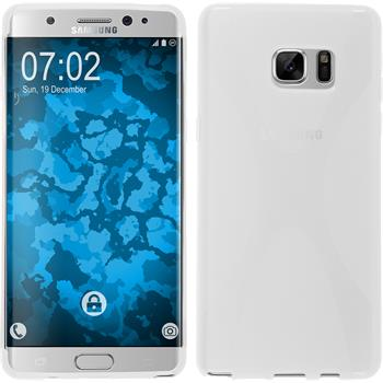 Silicone Case for Samsung Galaxy Note 7 X-Style transparent