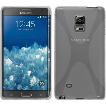 Silicone Case for Samsung Galaxy Note Edge X-Style transparent