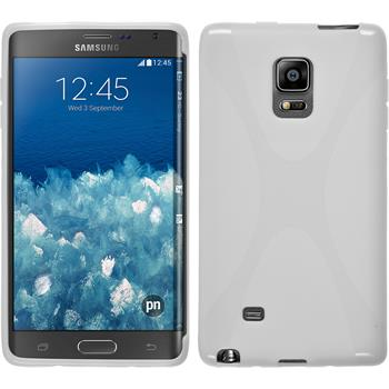 Silicone Case for Samsung Galaxy Note Edge X-Style white