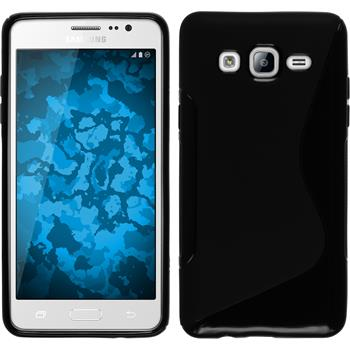 Silicone Case for Samsung Galaxy On5 S-Style black