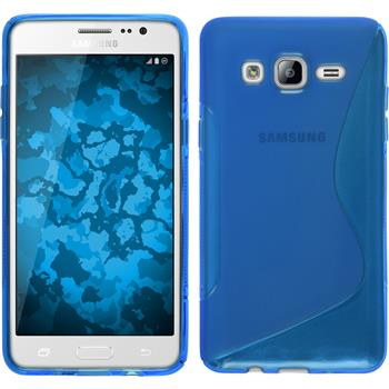Silicone Case for Samsung Galaxy On5 S-Style blue