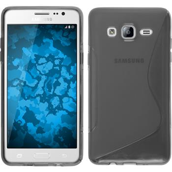 Silicone Case for Samsung Galaxy On5 S-Style gray