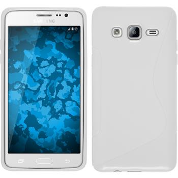 Silicone Case for Samsung Galaxy On5 S-Style white