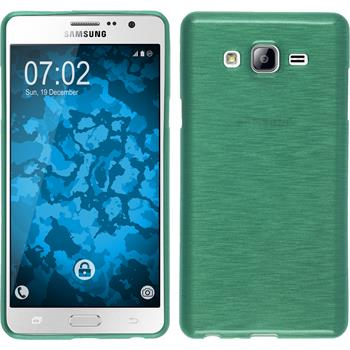 Silicone Case for Samsung Galaxy On7 brushed green