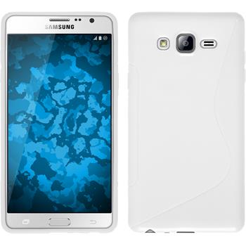 Silicone Case for Samsung Galaxy On7 S-Style white