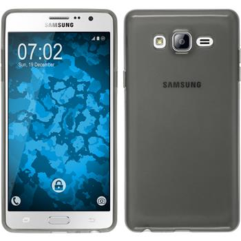 Silicone Case for Samsung Galaxy On7 transparent black