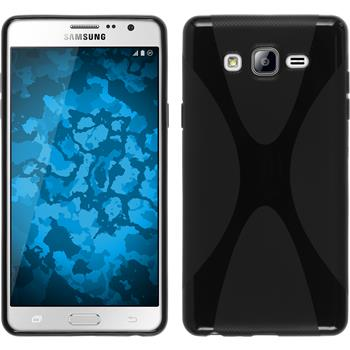 Silicone Case for Samsung Galaxy On7 X-Style black