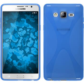 Silicone Case for Samsung Galaxy On7 X-Style blue