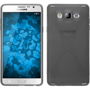 Silicone Case for Samsung Galaxy On7 X-Style gray