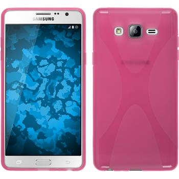 Silicone Case for Samsung Galaxy On7 X-Style hot pink
