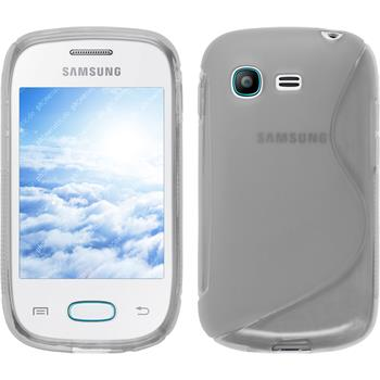 Silicone Case for Samsung Galaxy Pocket Neo S-Style transparent